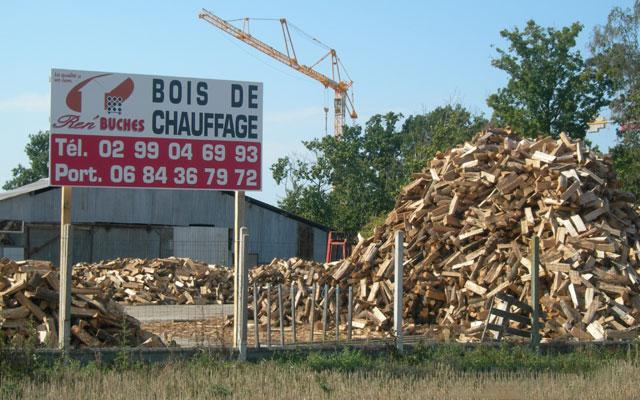 Ren'BUCHES Bois de chauffage, B u00fbches densifiées et Granulés Rennes # Bois De Chauffage Rennes